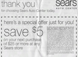 PR Fail: Sears Provides Loyal Customers With Useless Coupon | PRNewser | Public Relations & Social Media Insight | Scoop.it
