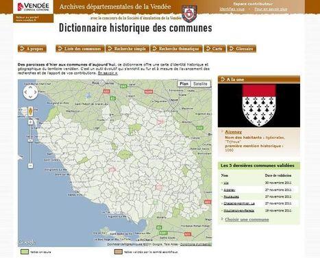 Les Archives de la Vendée à l'heure du 2.0 - d'Aïeux et d'Ailleurs - généalogie et archives | Genéalogie | Scoop.it