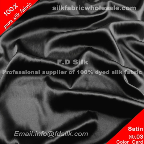 Black Silk Charmeuse Fabric | Silk Wedding Dress Material | Scoop.it