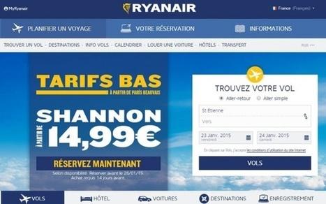 Comment Ryanair veut changer son image grâce aux nouvelles technologies | Voyages sur mesure | Scoop.it