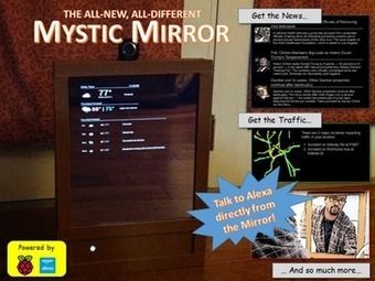 Mystic Mirror | Arduino, Netduino, Rasperry Pi! | Scoop.it