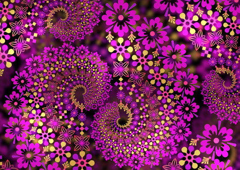 Create a Beautiful Fractal Design in Photoshop | Textures and Backgrounds Journal | Scoop.it
