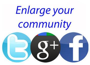 Twitter, Facebook, Google+: 1 grosse communauté est-ce vraiment utile ? | Marketing online PME | Scoop.it