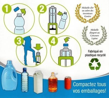 Compacteur bouteille plastique et canette : l'impitoyable Compacto | Solutions autour de l'eau | Scoop.it