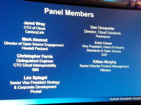 Cloud Foundry Summit: Day 1 - Blog on Research and Development | Altoros | All things Cloud Foundry | Scoop.it