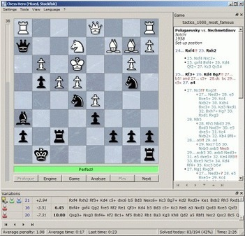 Chess Hero - A free chess training program   Abstract Board Games   Scoop.it