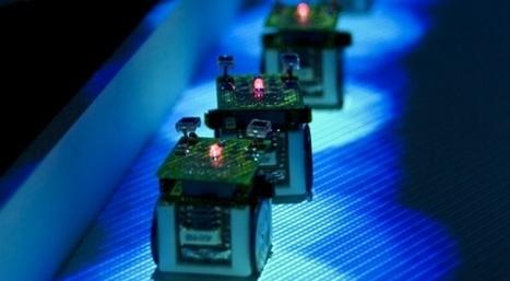 Les robots-fourmis s'entraident pour trouver le plus court chemin | Slate | Robotique de service | Scoop.it