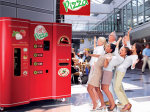 Company Bets Robotic Vending Machine Pizza Is A Winner : NPR | The Robot Times | Scoop.it