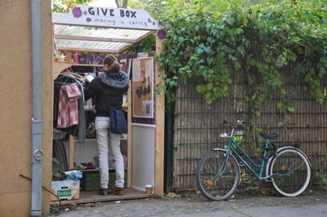 Mais qu'est-ce qu'une « Givebox » ? - Efficycle | Innovations sociales | Scoop.it
