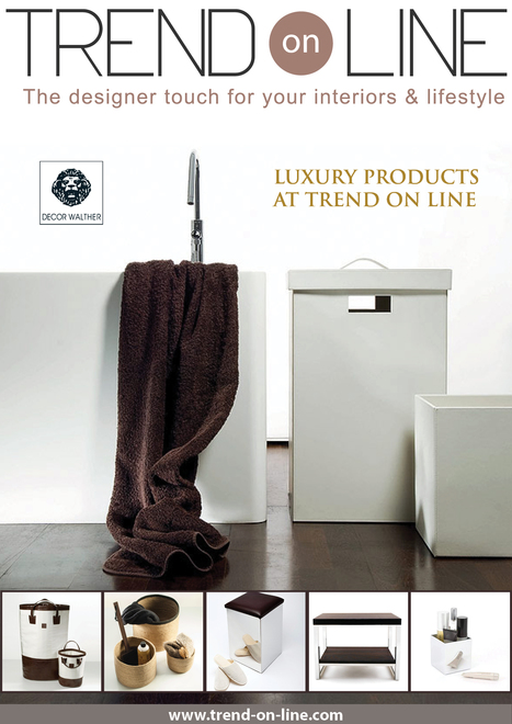TREND ON LINE PRESENT DECOR WALTHER   Trend On Line   Scoop.it
