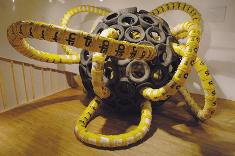 Jason Peters: Bucket  Sculpture | Art Installations, Sculpture, Contemporary Art | Scoop.it