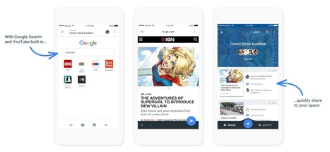 Google's new Spaces app mixes chat, YouTube, and Chrome | LibertyE Global Renaissance | Scoop.it