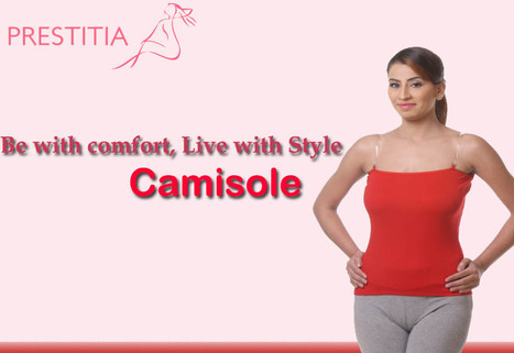 Prestitia - Camisole | Shopping Online in india padded Bra and panty | Scoop.it
