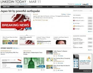 LinkedIn se lance dans la curation avec LinkedIn Today - Frenchweb.fr | Curation & Co | Scoop.it