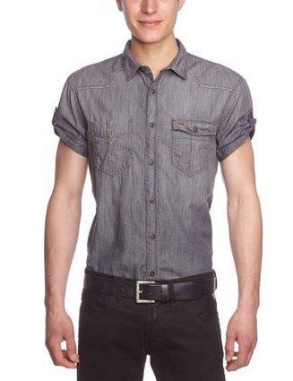***   TOM TAILOR Denim Herren Freizeithemd 20184526212/denim shirt, Gr. 56 (XXL), Grau (1393 bleached grey denim)   Hemden Bekleidung   Scoop.it