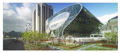 L'institut Fraunhofer a conçu pour Séoul un bâtiment ZÉRO ÉNERGIE dédié aux énergies renouvelables | The Architecture of the City | Scoop.it