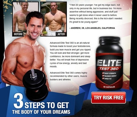 Interested In Elite Test 360? - You Must Read This First Before Buy!!! | MUSCLE BUILDING TRAINING WITH SUPPLEMENT | Scoop.it