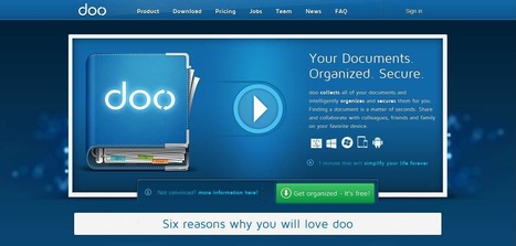 doo | Your Documents. Organized. Secure. | Multi Media | Scoop.it