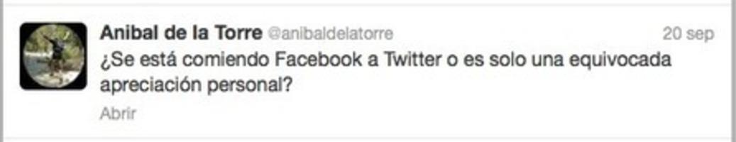 ¿Está desplazando Facebook a Twitter en contextos educativos?