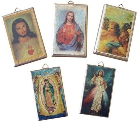 Small Religious Plaques - Set Of Three | Mexican Furniture & Decor | Scoop.it