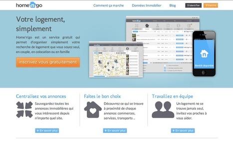 [Open Data] Home'n'go, et votre recherche de logement devient plus simple | Journées MITIC - Co-working | Scoop.it