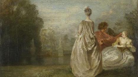Percez le mystère Antoine Watteau, rockstar de la peinture | A-arts-s s s (animaux, nature, écologie, peinture huile) | Scoop.it