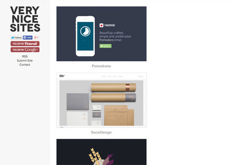 10 Web Design Galleries You May Not Know About | Health & Wellness | Scoop.it