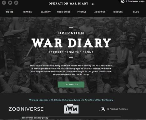 Operation War Diary | Humanities curriculum news | Scoop.it