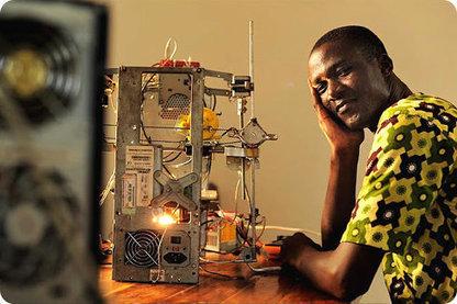 Un inventor africano crea su propia impresora 3D por menos de $100 dólares | Tecnología e información | Scoop.it