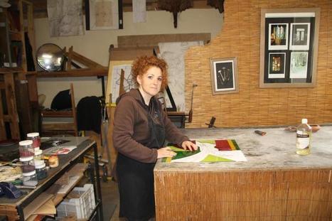 Maître-verrier Isabelle Constant crée et restaure des #vitraux à #Senillé #Chatellerault | Chatellerault, secouez-moi, secouez-moi! | Scoop.it