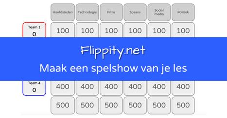 Flippity: Maak een spelshow van je les - iROCvanTwente | iCt, iPads en hoe word ik een ie-leraar? | Scoop.it