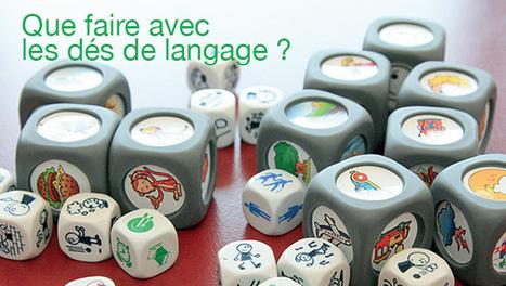 10 idée d'activité avec les dés de langage | J'adore le français! | Scoop.it