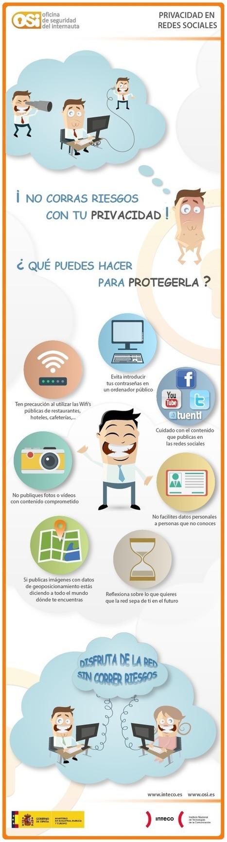 Privacidad en las Redes Sociales #infografia #infographic #socialmedia | Seo, Social Media Marketing | Scoop.it