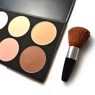 6 colors - Shading Powder with Brush - makeupsuperdeal.com | Makeup Sets | Scoop.it