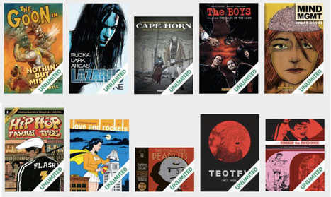 Comixology Launches Unlimited Comic Book Service | Ebook and Publishing | Scoop.it