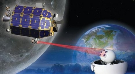 NASA activates 622 Mbps laser network between the Earth and Moon | VIM | Scoop.it