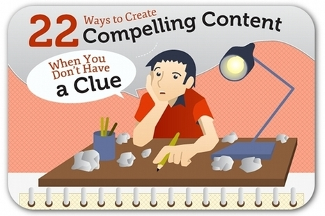 Infographic: 22 ideas for creating irresistible content | Prionomy | Scoop.it