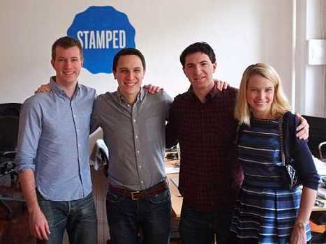 Mobile shopping curation: Marissa Mayer of Yahoo acquires Stamped | Content Curation Tools For Brands | Scoop.it