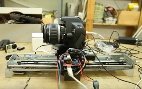 Arduino Blog – Turn your printer into a MOCO slider with Arduino | Arduino, Netduino, Rasperry Pi! | Scoop.it