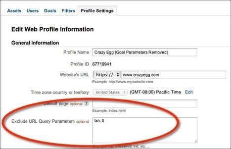 Remove URL Parameters From Google Analytics   A How-To Guide   Réseaux Sociaux et Web : Nouvelles   Scoop.it