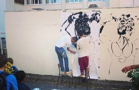 Le Wall drawings street-art festival réinvente les murs peints à Lyon   street art Lyon   Scoop.it