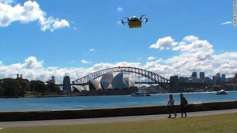 Zookal will deliver textbooks using drones in Australia next year | Future Retail Technologies | Scoop.it