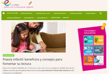 Poesía infantil: beneficios y consejos para fomentar su lectura | Bibliotequesescolars | Scoop.it