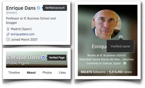 La verificación en redes sociales como supuesto privilegio | INEDPRESS | Scoop.it