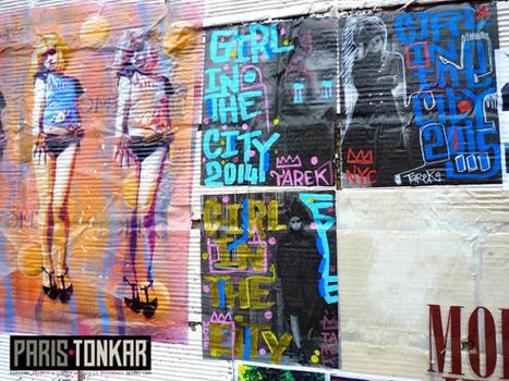 Collages à Saint-Ouen, avril 2015 | The art of Tarek | Scoop.it