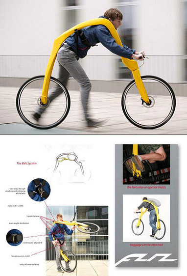 Fliz is World's First Running Bike Without Pedals, Fred Flinstone Approves - TechEBlog | Gear for Cyclists | Scoop.it