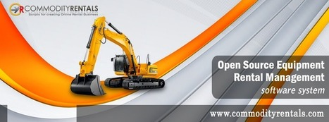 Heavy Equipment Maintenance Management Software - Online Booking Manager | CommodityRentals | Scoop.it