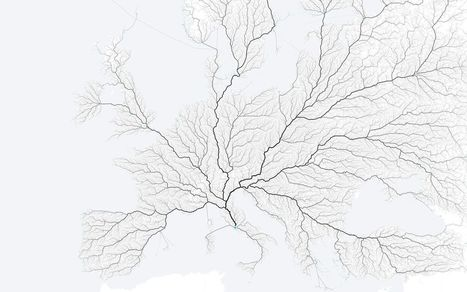 All the roads that lead to Rome | Geography Education | Scoop.it
