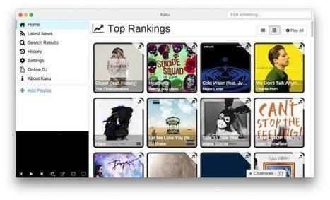 Kaku - Un lecteur musical Youtube / Soundcloud / Vimeo en open source - Korben | Playlist | Scoop.it