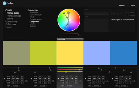 An Introduction to Color Theory for Web Designers - Tuts+ Web Design Article | WebMarketing Tips, News, and Tools | Scoop.it